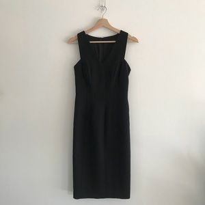 Banana Republic Midi Classic Sleeveless Dress Sz 2